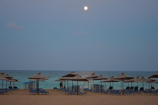 plážové slunečníky