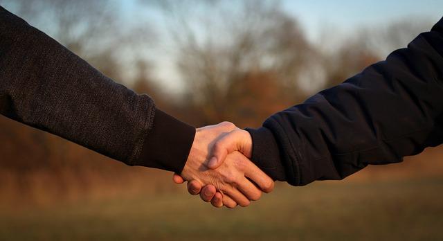 Podané ruce