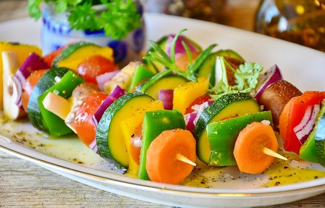 zeleninový hlavní chod