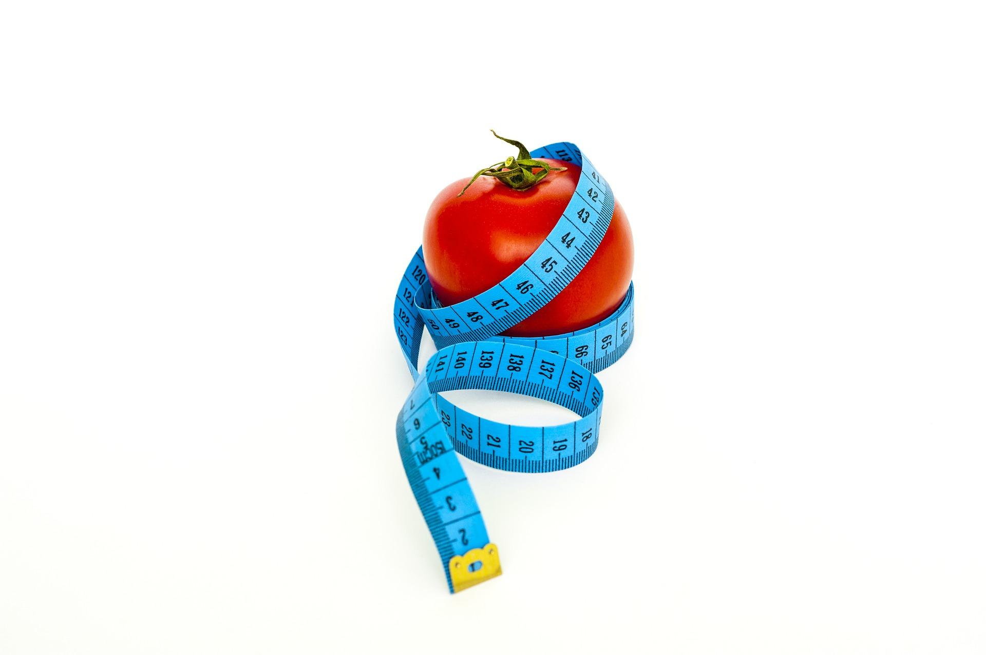 jablko a metr
